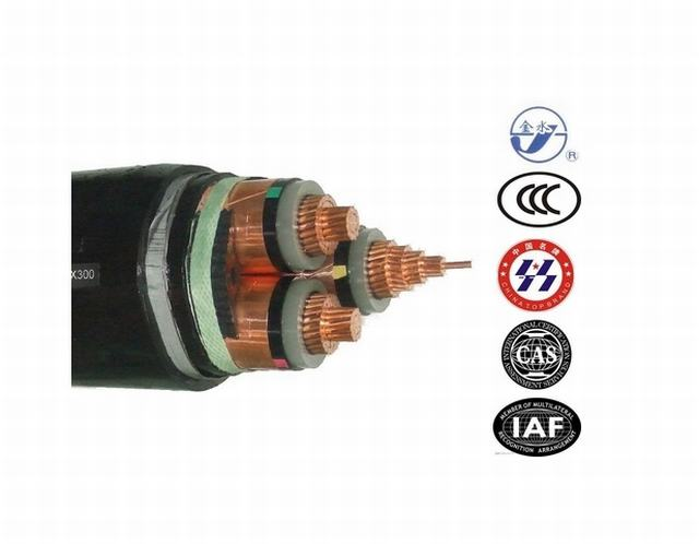 0.6/1kv Copper Conductor XLPE Insulated PVC Sheathed Power Cable (YJV) 4*16mm, 4*50mm and 4*120mm