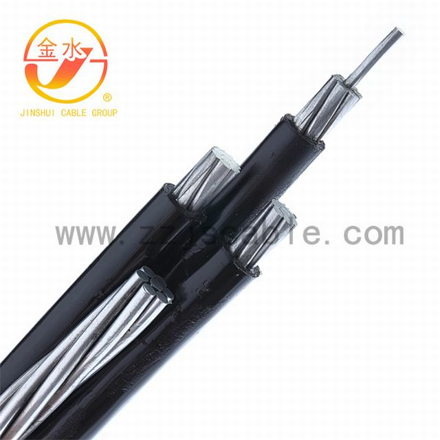 0.6/1kv PVC Aerial Bounded Cable, Overhead ABC Cable
