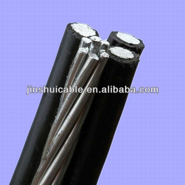 1/0AWG 2/0AWG 3/0AWG 4/0AWG Duplex Triplex Quadruplex Aerial Bundled Cable