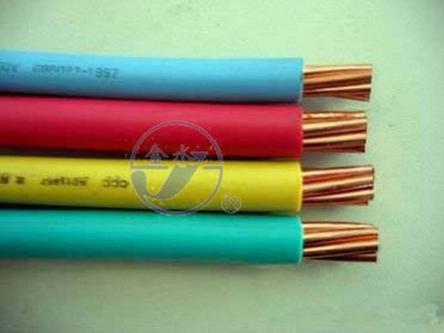 1.5mm 2.5mm 4mm 6mm Electric Copper Conductor PVC Coated Wire for House Wiring Cabl