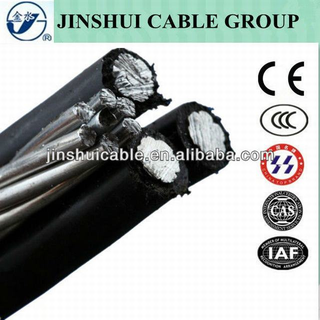 1kv Aluminum Conductor Aerial Bundled Cable 120 Sqmm