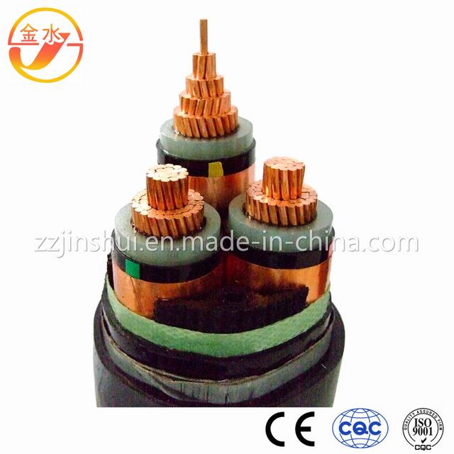 3.6 / 6 Kv 21 / 35 Kv Cable Cu/XLPE/Sta/PVC Steel Tape Armored Cable DIN VDE 0276