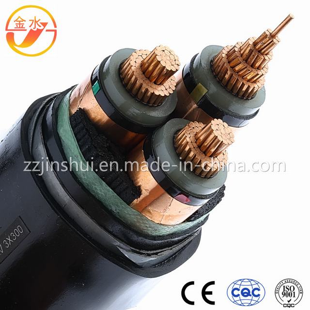 3kv Three-Core XLPE Insulated MDPE Sheath Cable