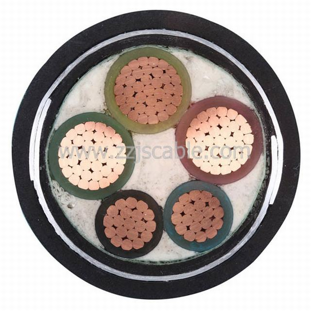 4+1 Core XLPE Insulated PVC Sheathed Power Cable