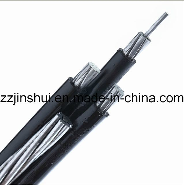 6/0 AWG Quadruplex Aerial Bundled Cable for Urd Overheadcable