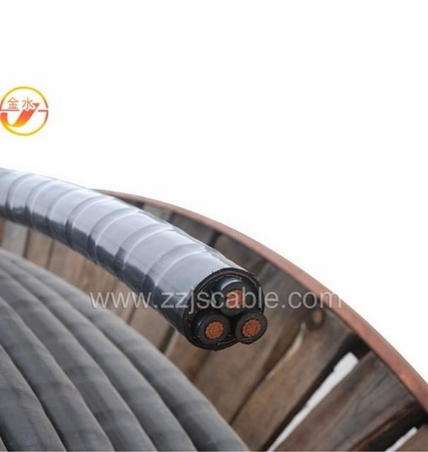 8.7/15kv Flame Retardant XLPE Insulated Underground Armoured Power Cablees 25kv Single Cores XLPE Insulation PVC Power Cable