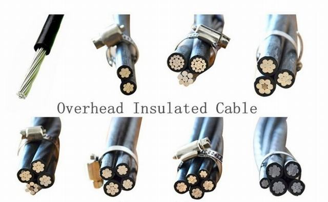 ABC/AAC/AAAC/ACSR/Neutral Conductor Aerial Bundled Cable