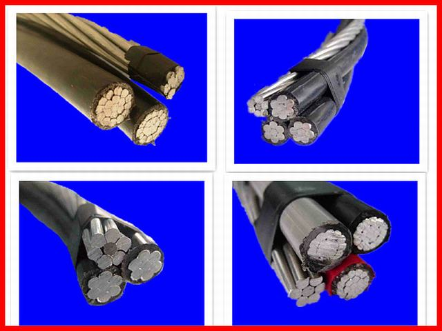 ABC Cable 2*6+6AWG with Ce RoHS UL Standard