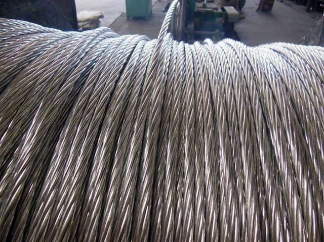 Aluminio Conductor Transmission Line Bare Raven ACSR 1/0 AWG Cable