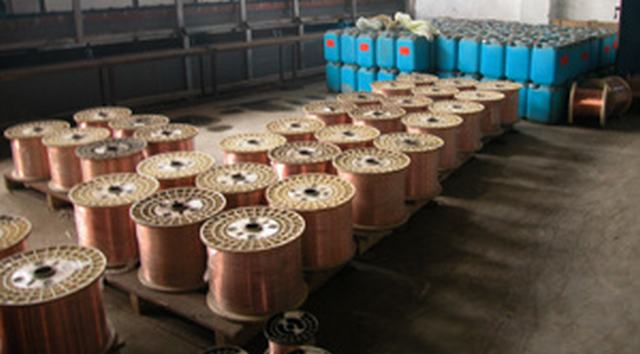 Copper Clad Steel Wire (CCS) 21% of High Quality