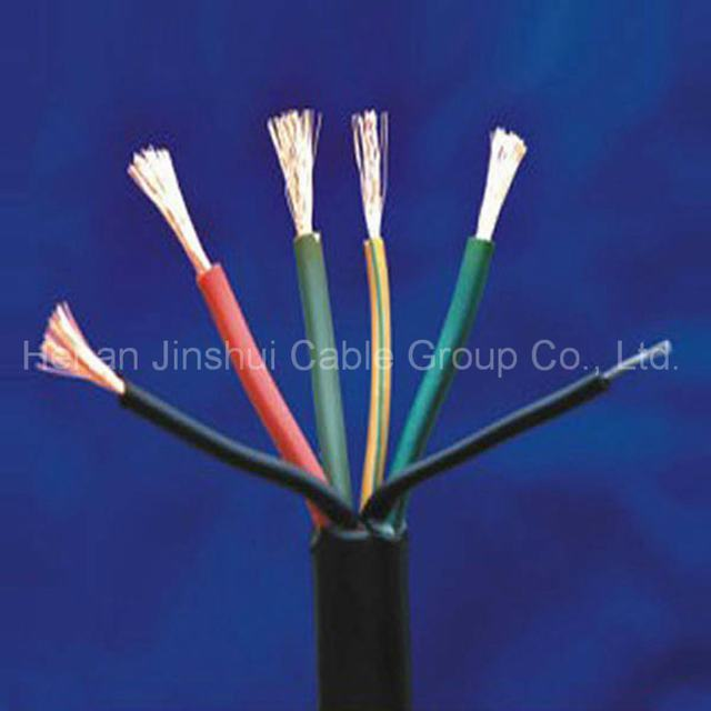 Copper Conductor PVC Sheath 6 Core Flexible Control Cable