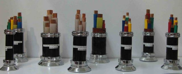 Copper Power Cable for Underground