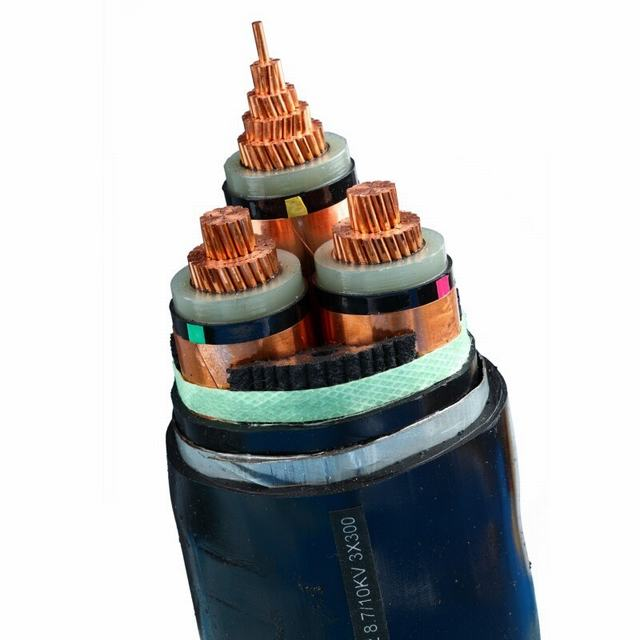 Electric Power Cable with Aluminum Core