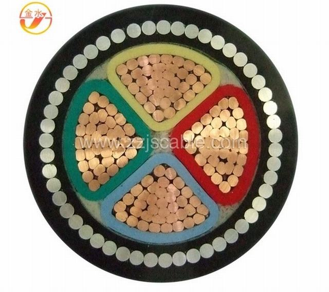 First Selling Medium Voltage Single Core Multi Core XLPE Insulated Steel Wire Armored PVC Sheathed Electrical Power Cable