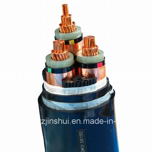 Henan Jinshui Group Mv Electric 3 Core XLPE Armoured Power Cable
