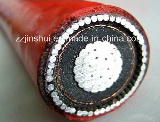 High Voltage XLPE Power Cable 1c*500mm2 Aluminum Core Awa Armored