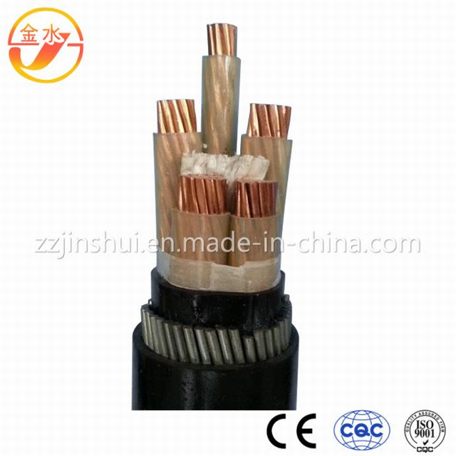 Low Smoke and Low Halogen Flame Retardant Power Cable with XLPE Insulated PVC Sheathed Steel Tape Armored