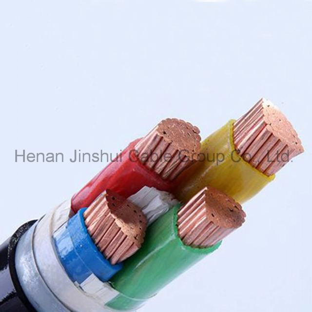 Low Voltage 4 Core Copper Conductor Steel Tape Armored Cable