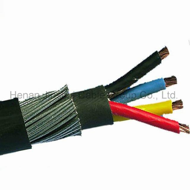 Low Voltage 4 Core Steel Wire Armored Power Cable