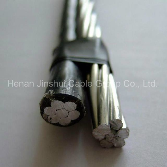 Low Voltage XLPE Insulated Aluminum Duplex Aerial Cables