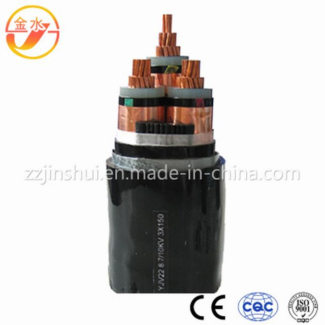 Medium Voltage 33kv Three-Core XLPE Insulated LSZH Sheath Cable
