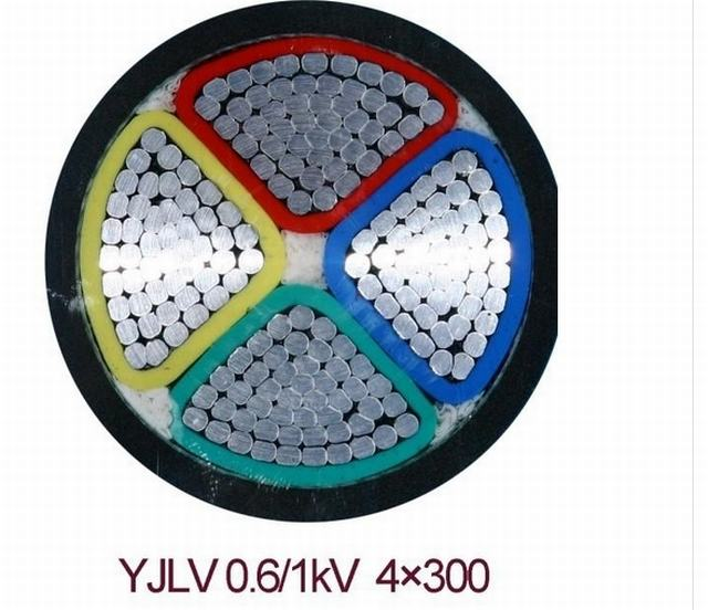 Mv Alunimum Core Flame Retardant XLPE Power Cable Three Layers Coextrusion and Armoured