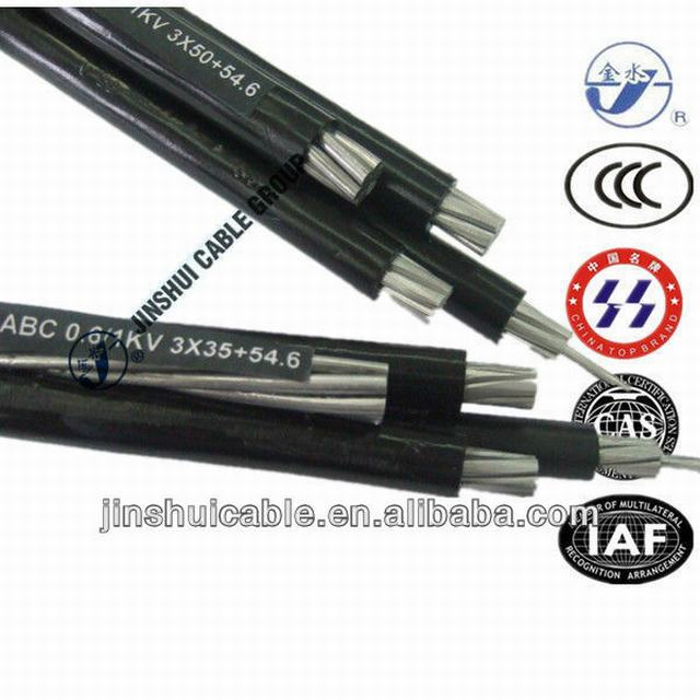 NFC 33-209 Low Voltage ABC Cable 3X35+54.6mm2