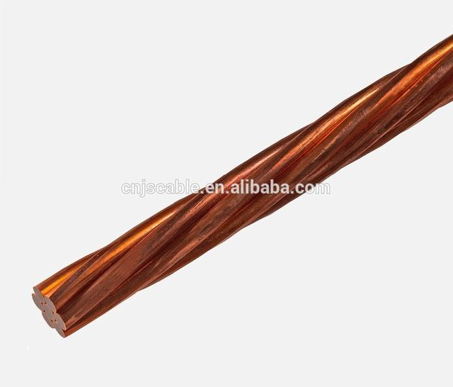 No. 2 No. 6 AWG Hard Drawn Bare Copper Conductor