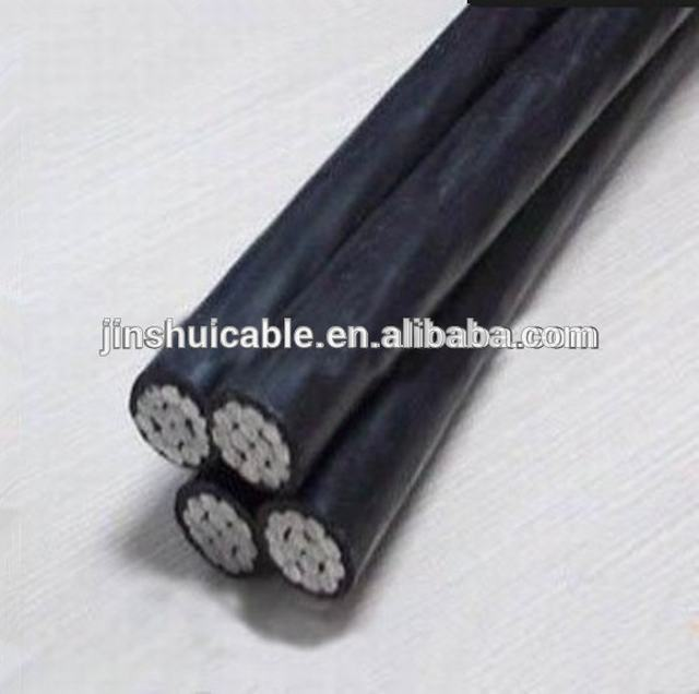 Overhead Alluminum Wire 25mm 4core ABC Cable