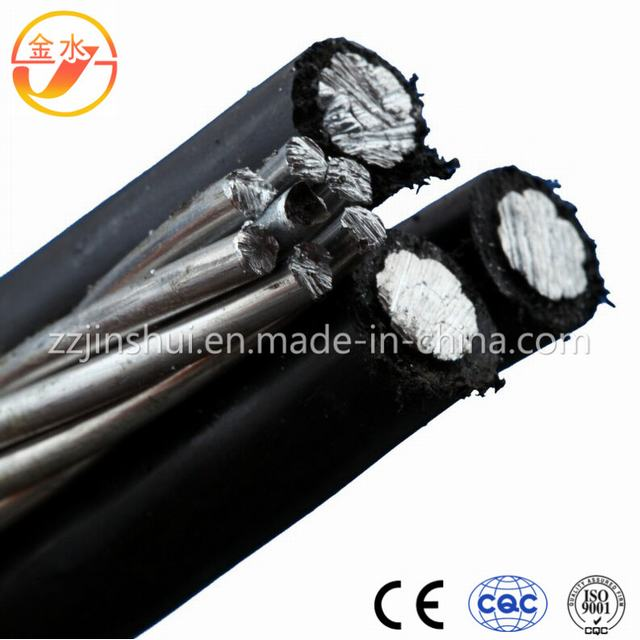 PVC Insulated Aerial Bundled Cable with Round Wire