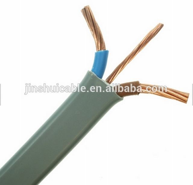PVC Insulated Flat Building Wire 2X4+1.5mm2