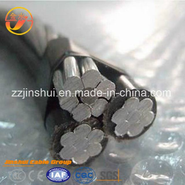 Power Copper Conductor PVC XLPE Insulated Overhead ABC Aluminum XLPE Cable ACSR 3*1 0AWG Neritina