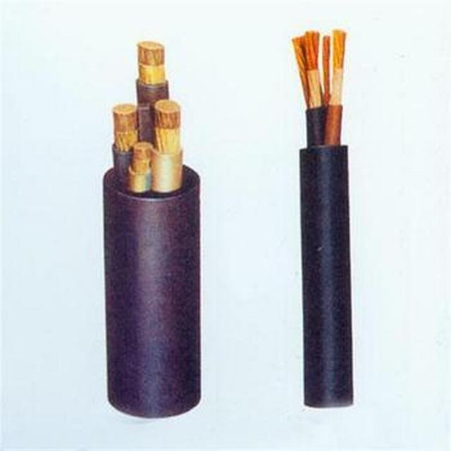 Rubber Cable Mining Use Mobile Rubber Sheathed Flexible Cable Epr Trailing Cable for Using in The Coal Mine