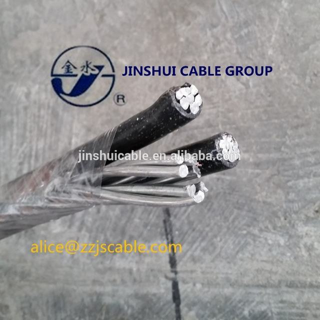 Service Drop ABC Cable Hot Selling Insulated Aerial Cable