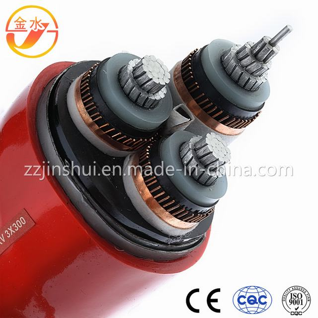 Three-Core XLPE Insulated Power Cable