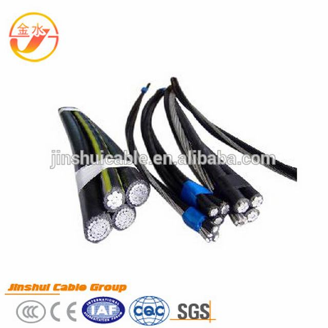 Triplex ABC Service Drop Aerial Bundled Cable