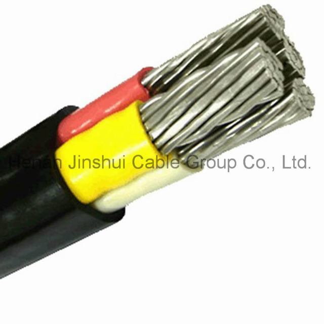 XLPE Insulated Low Voltage 4 Core Aluminum Power Cable